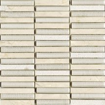 LAntic Colonial Mosaics Time Texture Linear Cream 30x30